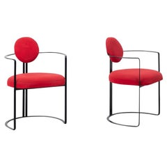 Michele De Lucchi Attributed Chairs, Italy, circa 1980