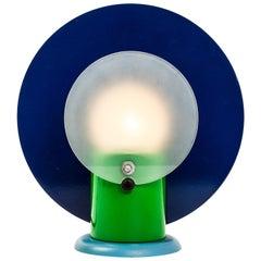 Michele de Lucchi Round Lamp by Padova Bieffeplast Memphis Group