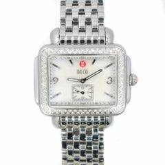 Michele Deco1074, White Dial Certified Authentic