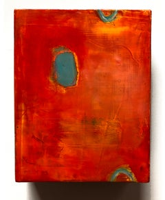 NOVA, Michele Mikesell's Oil on canvas, abstract colorful painting