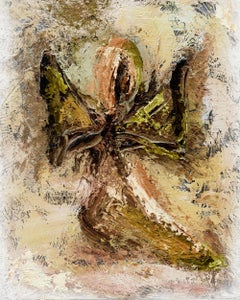 AngelScape - Angel of Hope I (Earth Tones), Mixed Media on Canvas