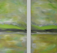 MAGNETIZE III {DIPTYCH}, Painting, Oil on Canvas