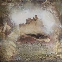 PORTAL X, Painting, Oil on Wood Panel