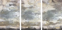 SUENO {DREAM} TRIPTYCH - SET OF 3, Painting, Oil on Wood Panel