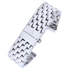 Michele Stainless Steel Watch Band