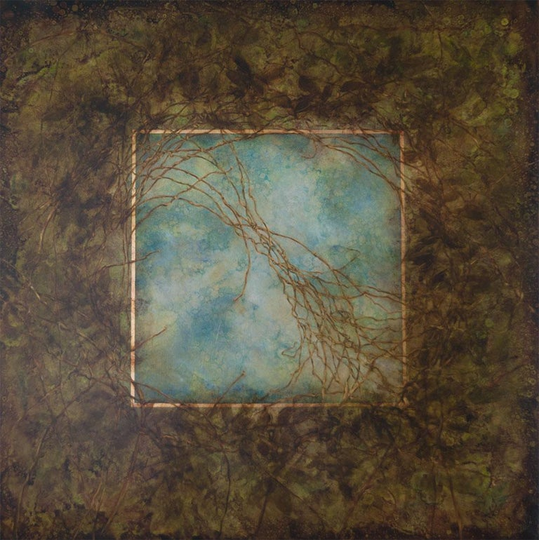Michelle Gagliano Landscape Painting - Through The Trunnel