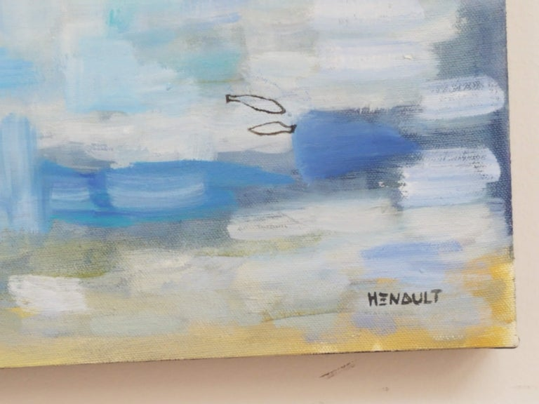 Canadian Michelle Hénault Modern Abstract Painting
