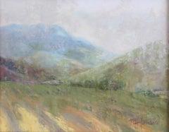 Bear Lake Fields, Painting, Oil on MDF Panel
