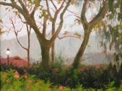 Hawaii Grounds three, Painting, Oil on Canvas
