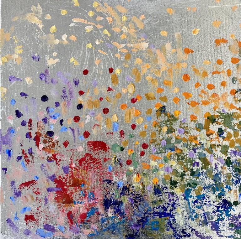 Michelle Sakhai Abstract Painting - Sunshine