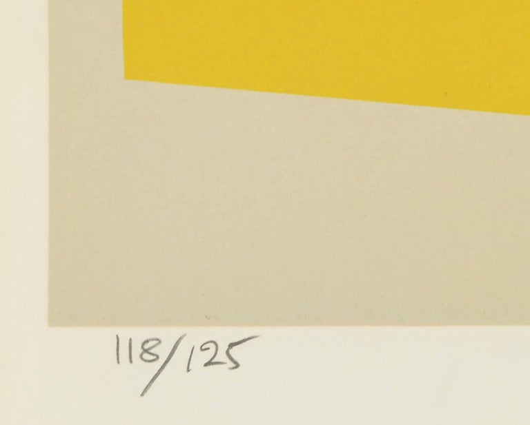 Untitled II - Beige Abstract Print by Michiel Gloeckner