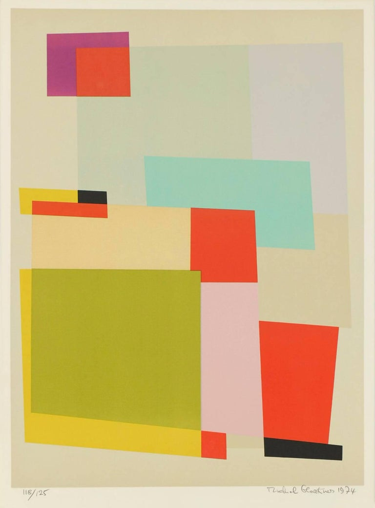 Michiel Gloeckner Abstract Print - Untitled II