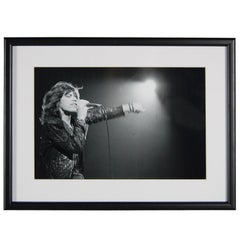 Mick Jagger Photograph, on Stage, London