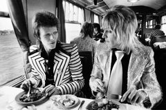 David Bowie & Mick Ronson, Train to Aberdeen, 1973