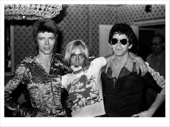David Bowie, Iggy and Lou. Dorchester Hotel