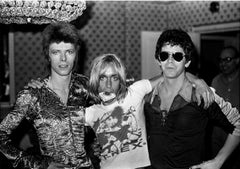 David Bowie, Iggy Pop, Lou Reed Dorchester Hotel 1972