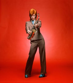 David Bowie. Sax Full-Length Color, London