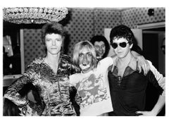 David Bowie, Iggy Pop, & Lou Reed, The Unholy Trinity, 1972 by Mick Rock 1972