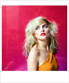 Pink Debbie Harry - signed limited edition print