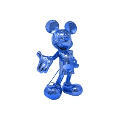 Mickey Metallic pop sculpture figurine, Made in France