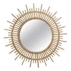 Mickey Mirror in Natural Glass by CuratedKravet