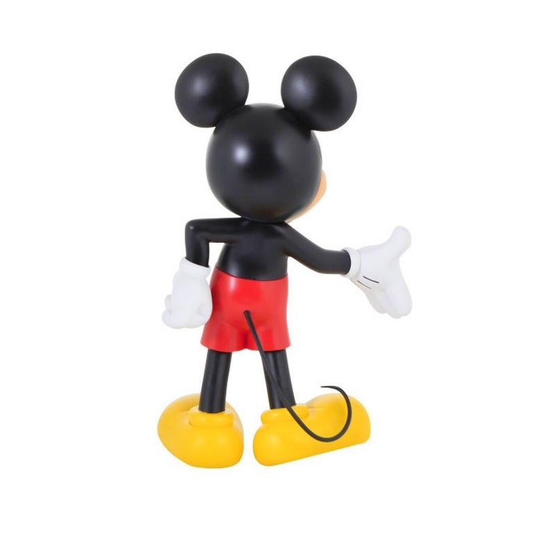 Modern In Stock in Los Angeles, Mickey Mouse Original Color, Pop Sculpture Figurine For Sale