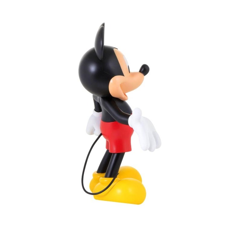 French In Stock in Los Angeles, Mickey Mouse Original Color, Pop Sculpture Figurine