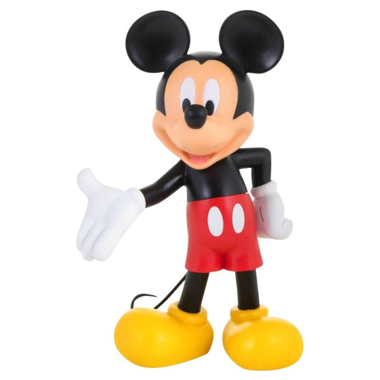 In Stock in Los Angeles, Mickey Mouse Original Color, Pop Sculpture Figurine For Sale
