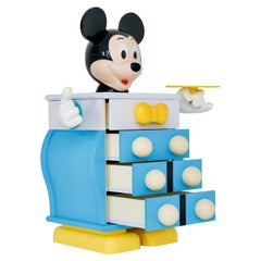 Mickey Mouser Chest of Drawers by Pierre Colleu for Disney, Produced by Starform