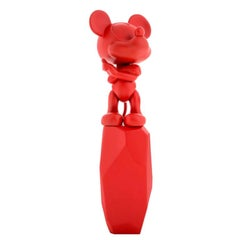 Mickey Rock Figurine, Designed by Arik Levy, Made in France
