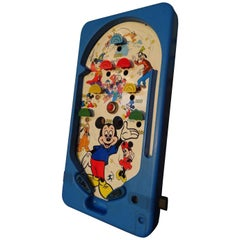 Mickey Mouse 1960 Retro Vintage Original Walty Disney Pinball Tabletop Game