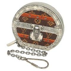 Micro  Boite  Chapo  Transformed  unisex  coin case M63596 Leather