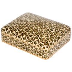 Micro Mosaic Indo Persian Inlaid Box