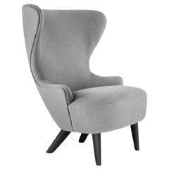 Micro Wingback Chair Black Leg Hallingdal 65