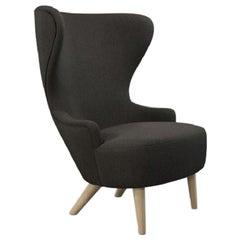 Micro Wingback Chair Natural Leg Mollie Melton 0202