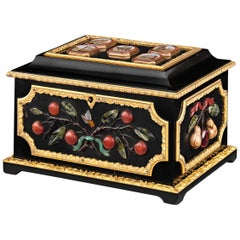 Micromosaic and Pietre Dure Grand Tour Casket
