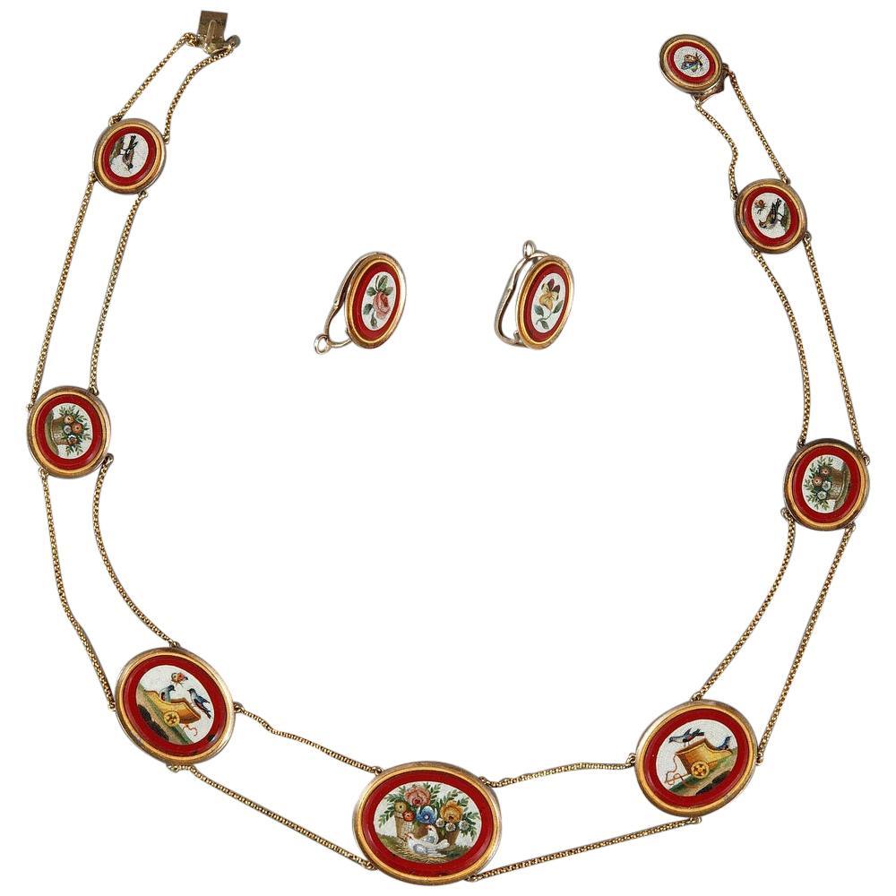 Empire Link Necklaces