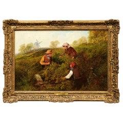 """Mid-1800 British Landscape, """"The Bird's Nest"""""""