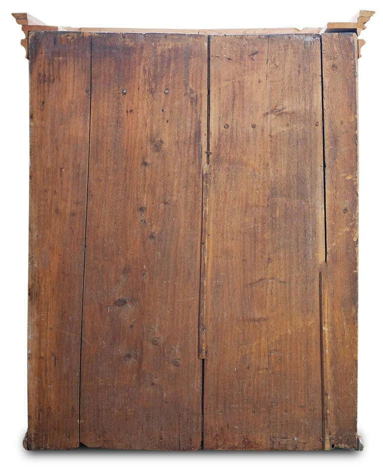 Mid-18th Century Carved Wardrobe For Sale 10