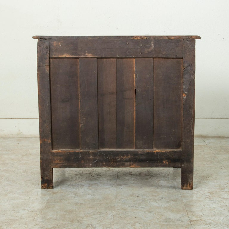 18th Century and Earlier Mid-18th Century French Louis XIV Period Walnut Commode, Chest, Nightstand For Sale