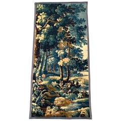 Mid-18th Century French Verdure Aubusson Tapestry with Trees and Foliage