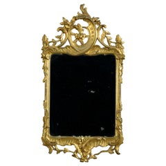 Mid-18th Century Rococo Giltwood Mirror in the Manner of Hoppenhaupt