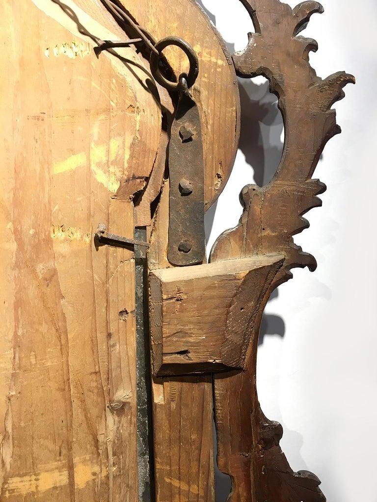Mid-18th Century Venice Walnut Mirror, circa 1750 For Sale 13