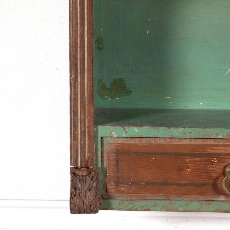 Painted Mid-19th Century Austrian Wall Shelves For Sale