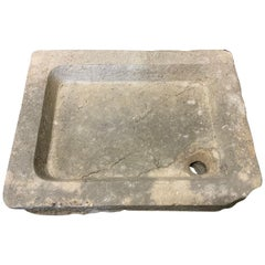 Mid-19th Century Belgian Bluestone Sink