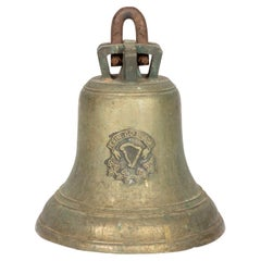 Mid-19th Century Bell by James Sheridan's Eagle Foundry of Dublin