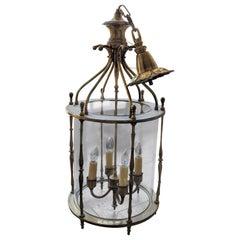 Mid-19th Century Bronze Lantern from France