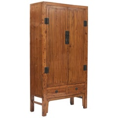 Mid-19th Century Chinese Peachwood Cabinet