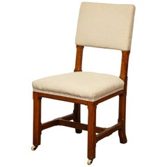 Mid-19th Century English Side Chair in the Manner of Pugin