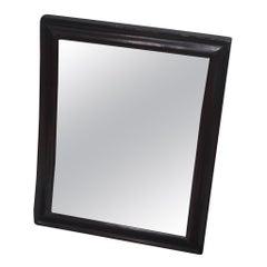 Mid-19th Century Fairground Carnival Concave Distortion Oak Mirror